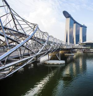 Stunning bridges in singapore singapore expats for Design bridge singapore