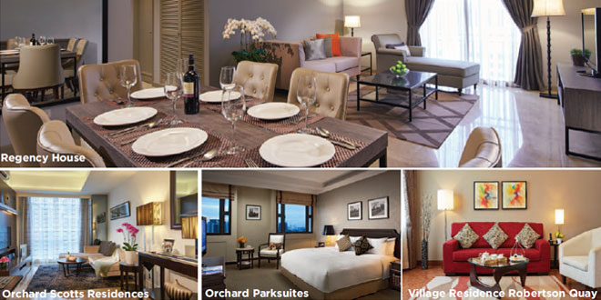 service apartments in singapore - short term accommodation, serviced