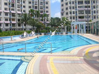 Singapore condo apartment pictures buy rent bishan park condo at 14 24 sin ming walk Tong high school swimming pool