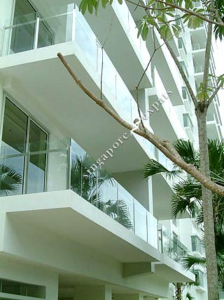 Buy rent grange residences at 91 95 grange road for Balcony ideas singapore