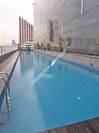 Singapore condo apartment pictures buy rent the central at 6 12 eu tong sen street Tong high school swimming pool